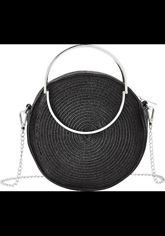LASCANA Umhängetasche, kleine Strandtasche aus Bast