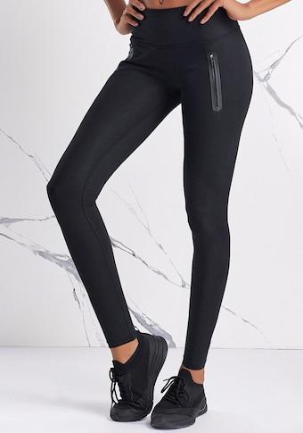 LASCANA ACTIVE Leggings, mit Reißverschlusstaschen