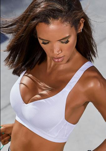 LASCANA ACTIVE Sport-BH, mit eingearbeiteten Push-up-Kissen