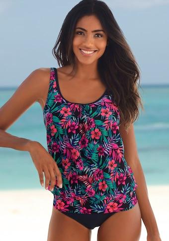 Venice Beach Oversize-Tankini-Top »Summer«