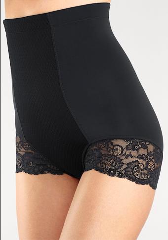 LASCANA Taillenshaper, mit hochwertiger Spitze am Bein