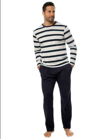 H.I.S Pyjama, in schöner Streifenoptik