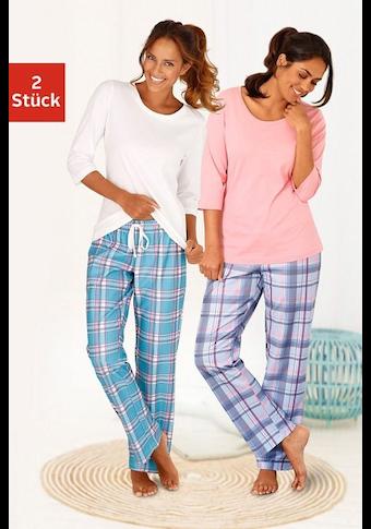 Arizona Pyjama (2 Stück)