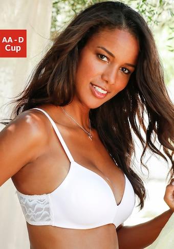 LASCANA Bralette-BH, ohne Bügel, mit nahtlos vorgeformten Cups