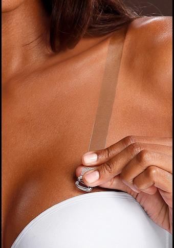 LASCANA BH-Träger, transparent, zum Austauschen