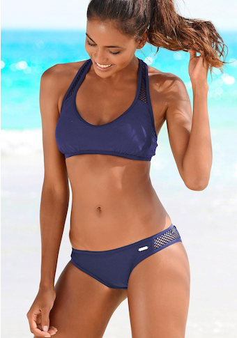 Sunseeker Bustier-Bikini »Miami«, mit Mesh-Einsatz